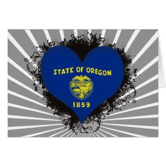 Vintage I Love Oregon Cards