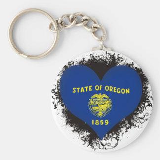 Vintage I Love Oregon Key Chains