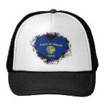 Vintage I Love Oregon Mesh Hat