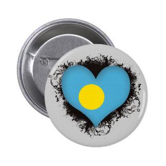 Vintage I Love Palau Buttons
