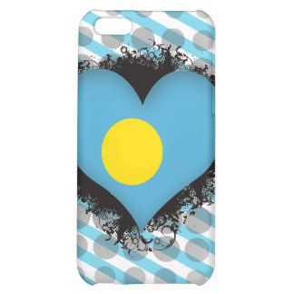 Vintage I Love Palau Cover For iPhone 5C