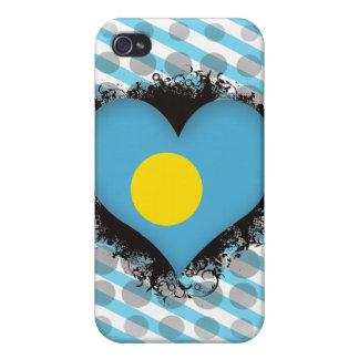 Vintage I Love Palau iPhone 4/4S Cases