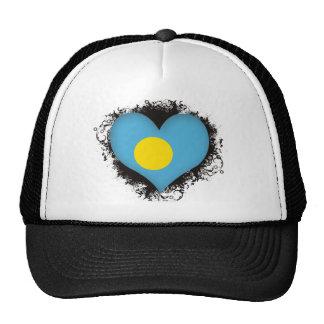 Vintage I Love Palau Trucker Hats
