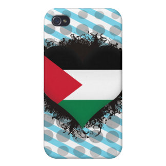 Vintage I Love Palestine iPhone 4 Covers