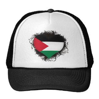 Vintage I Love Palestine Trucker Hat