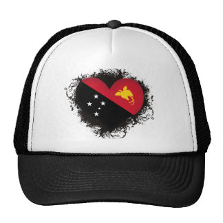 Vintage I Love Papua New Guinea Trucker Hat