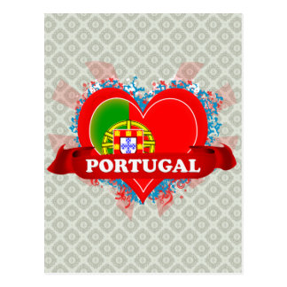 Vintage I Love Portugal Postcards