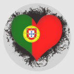 Vintage I Love Portugal Stickers
