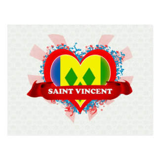 Vintage I Love Saint Vincent Post Cards