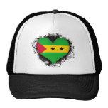 Vintage I Love Sao Tome and Principe Trucker Hat