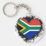 Vintage I Love South Africa Keychain