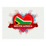 Vintage I Love South Africa Post Card