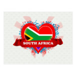 Vintage I Love South Africa Postcard