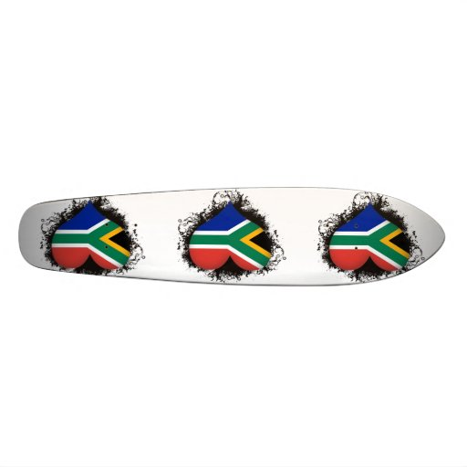Vintage I Love South Africa Skateboards