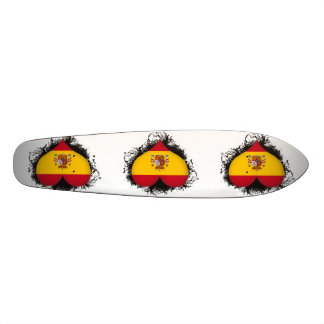Vintage I Love Spain Custom Skate Board