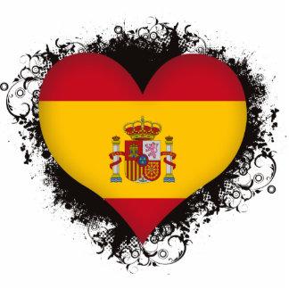 Vintage I Love Spain Cut Out