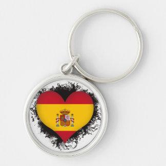 Vintage I Love Spain Key Chains