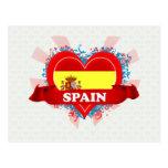 Vintage I Love Spain Postcards