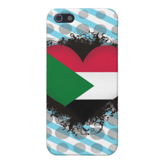 Vintage I Love Sudan iPhone 5 Cases