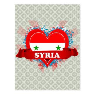 Vintage I Love Syria Postcard