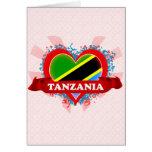 Vintage I Love Tanzania Cards