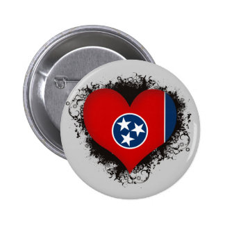 Vintage I Love Tennessee Button