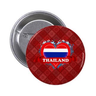 Vintage I Love Thailand Buttons