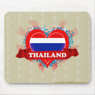 Vintage I Love Thailand Mouse Pad