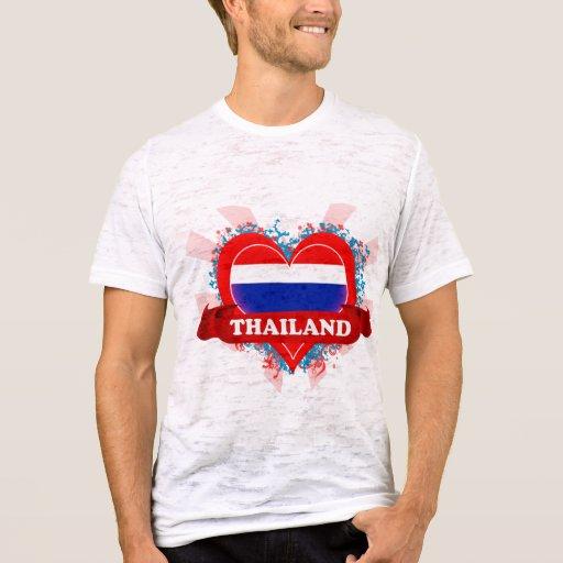 Vintage I Love Thailand T-Shirt