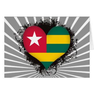 Vintage I Love Togo Greeting Card