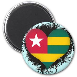 Vintage I Love Togo Fridge Magnets