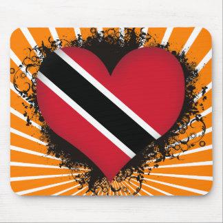 Vintage I Love Trinidad and Tobago Mouse Pad