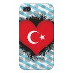 Vintage I Love Turkey iPhone 4/4S Covers