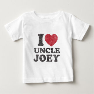 Vintage I Love Uncle Joey Baby T-Shirt