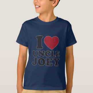 Vintage I Love Uncle Joey T-Shirt