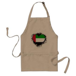 Vintage I Love United Arab Emirates Aprons