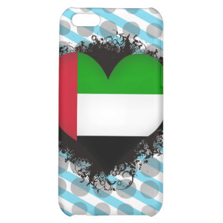 Vintage I Love United Arab Emirates iPhone 5C Case
