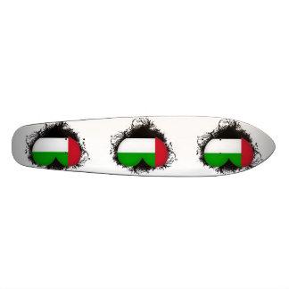 Vintage I Love United Arab Emirates Skateboard Deck