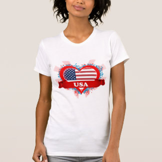 Vintage I Love Usa T Shirt