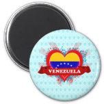 Vintage I Love Venezuela Magnets