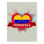 Vintage I Love Venezuela Postcard
