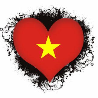 Vintage I Love Vietnam Photo Cutout