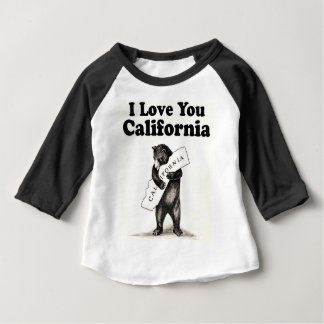 Vintage I Love You California Baby T-Shirt