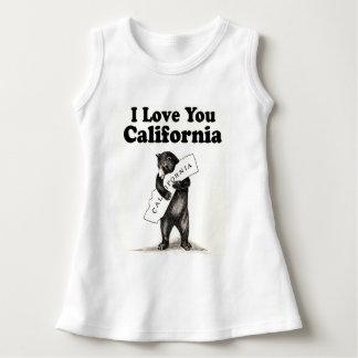 Vintage I Love You California Dress