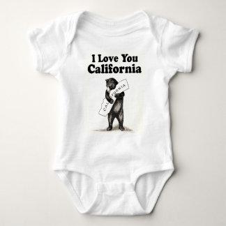Vintage I Love You California Tee Shirt