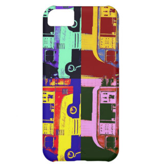 Vintage ice cream truck europe pop art cover for iPhone 5C