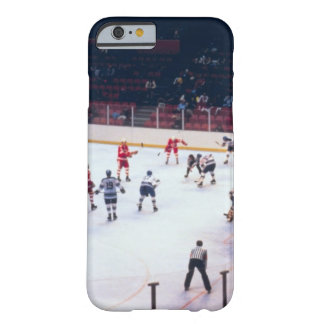 Vintage Ice Hockey Match Barely There iPhone 6 Case