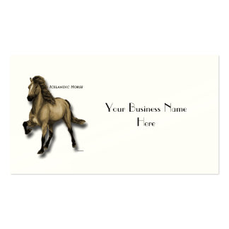 Vintage Icelandic Double-Sided Standard Business Cards (Pack Of 100)