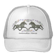 Vintage  Icelandic Mesh Hat