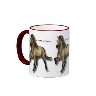 Vintage Icelandic Ringer Coffee Mug